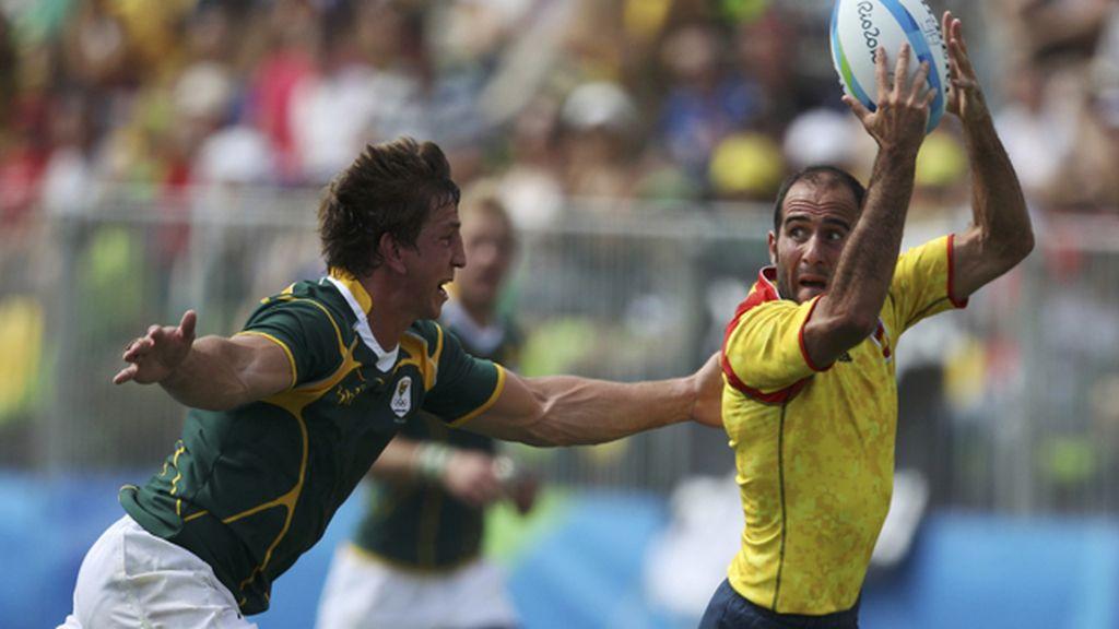 'Los Leones' debutan con una holgada derrota contra Sudáfrica en Rugby a 7