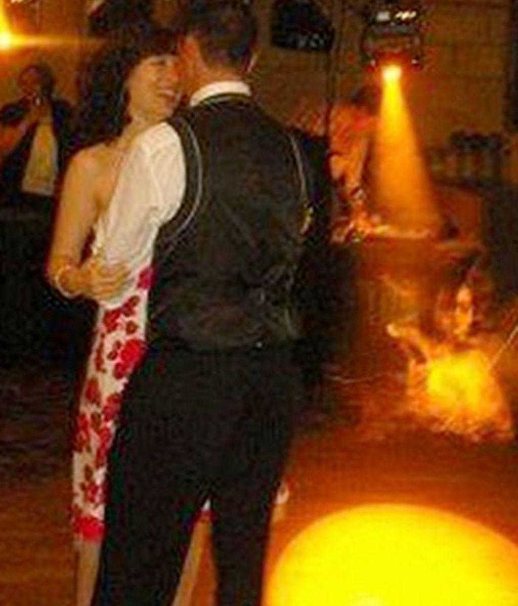 Una misteriosa invitada en la boda