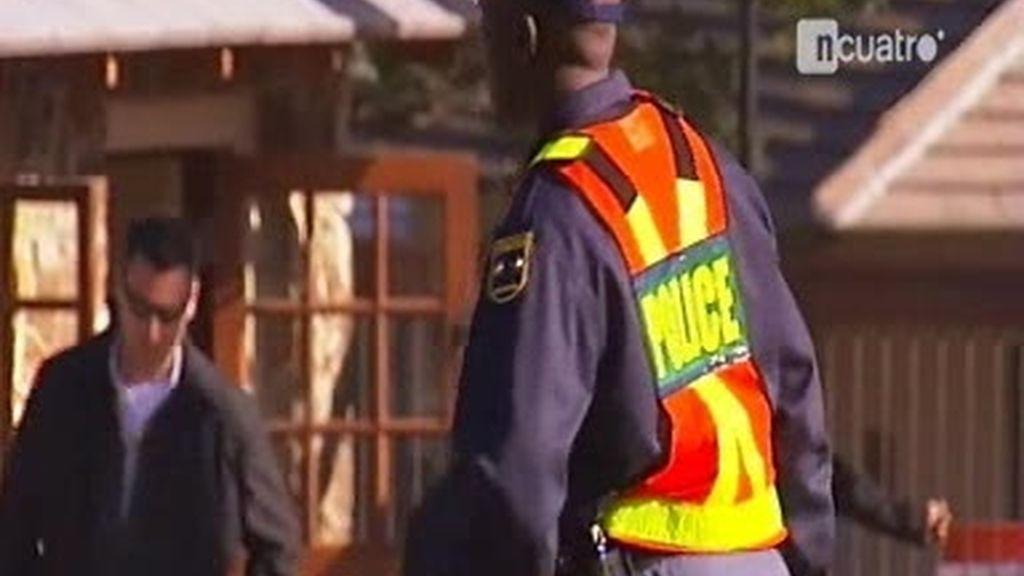 Máxima seguridad en Johannesburgo