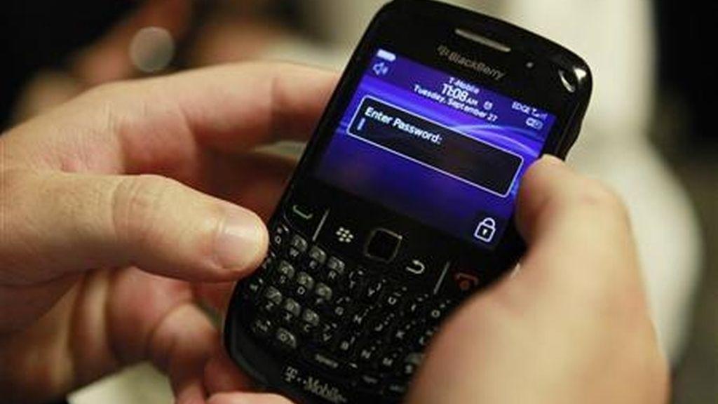 BlackBerry vuelve a tener problemas con su servicio