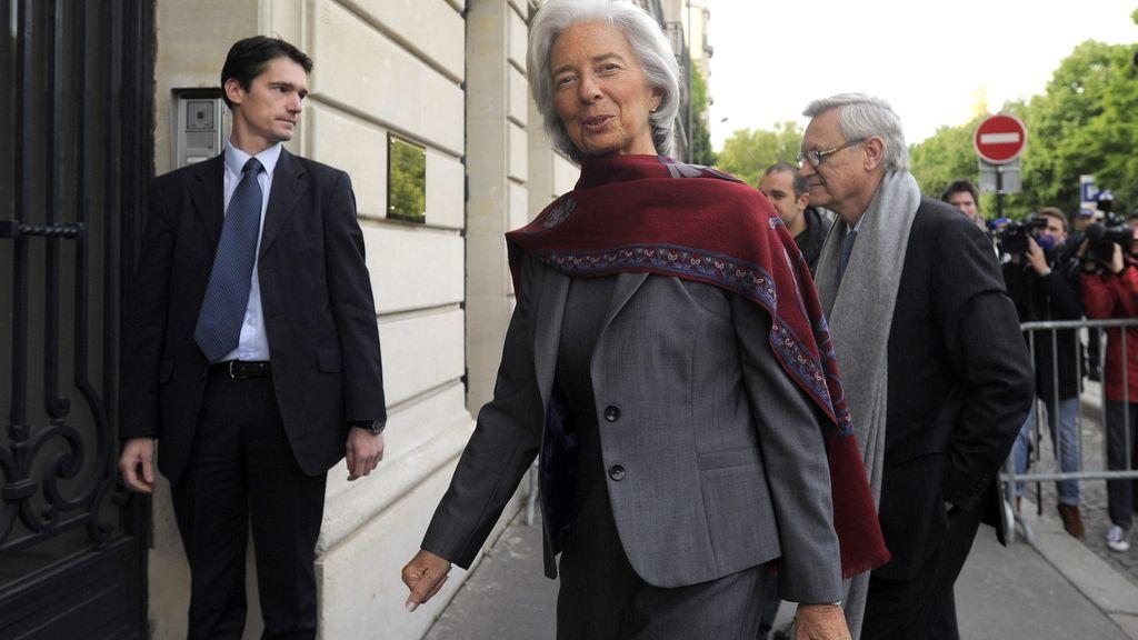 Lagarde comparece por segundo día ante el Tribunal de París