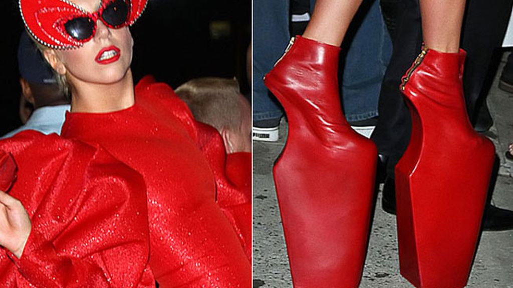 Lady Gaga, plataformas imposibles