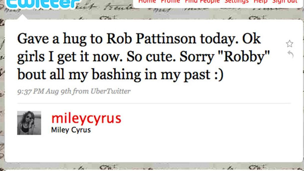 Cambió su opinión acerca de Robert Pattinson tras tenerle cerca