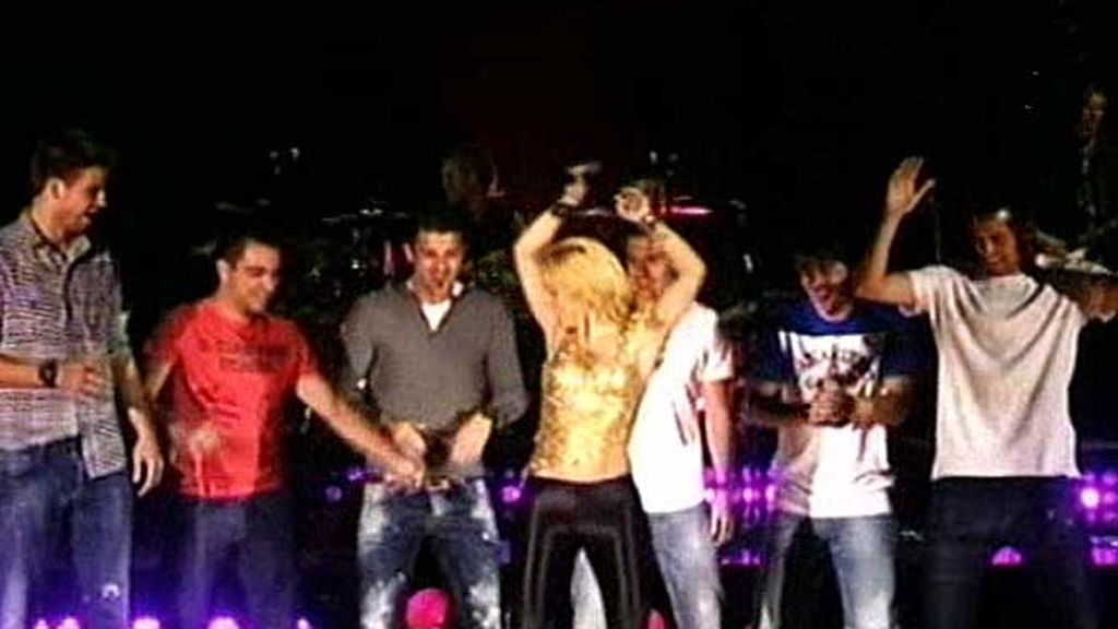 "Pique a Shakira:  ""Para ya, para ya"""