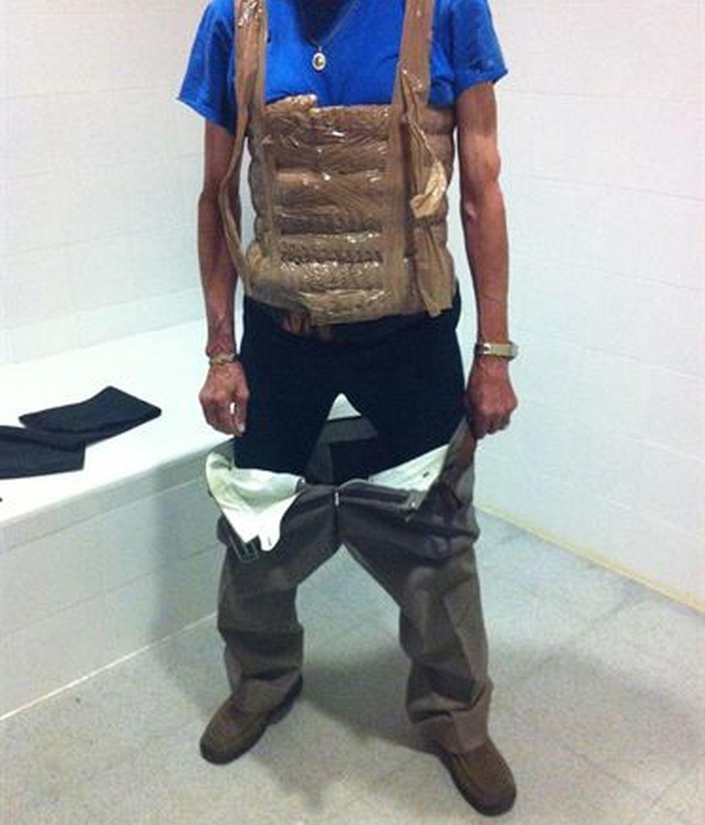 A prisión un anciano acusado de transportar hachís adosado a su cuerpo