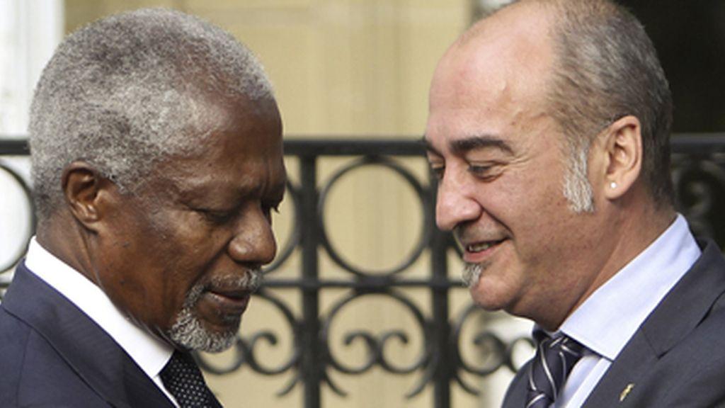Kofi Annan ha sido uno de los participantes en la Conferencia de Paz.