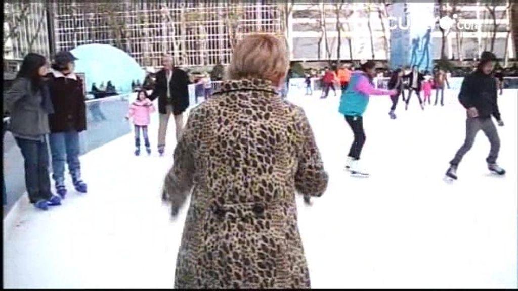 Callejeros Viajeros Nueva York: Patinando en el Rockefeller Center