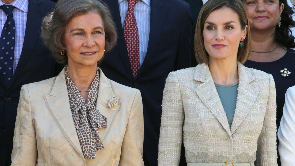 La reina Sofía cede a la reina Letizia la presidencia de honor de la FAD