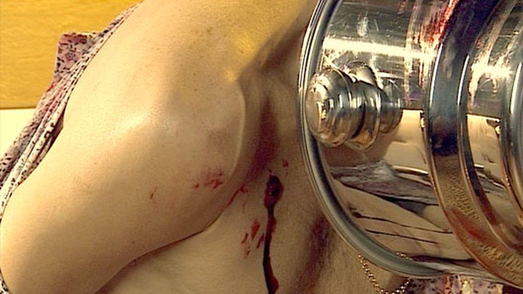 El Gitano, torturado