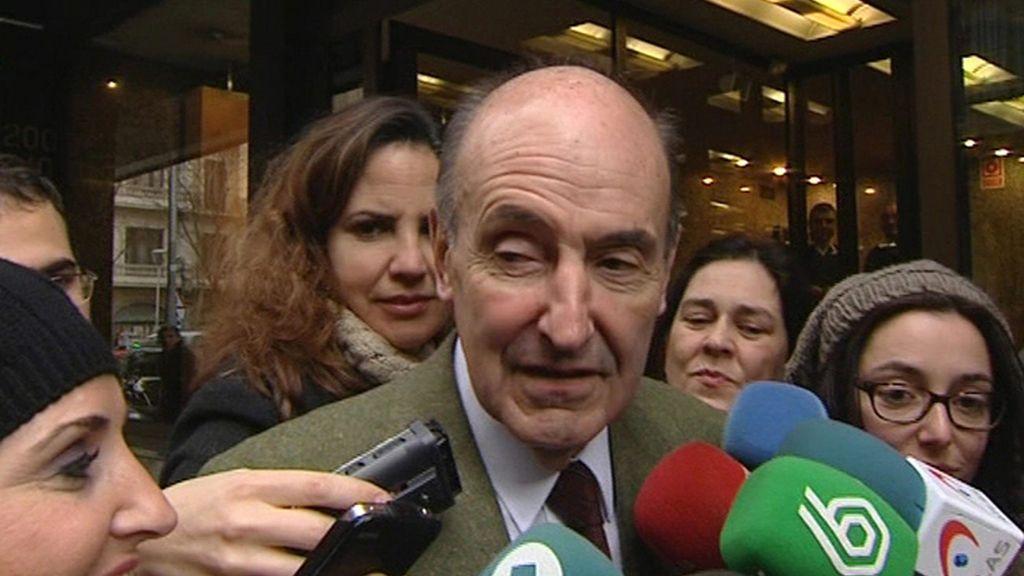 Miquel Roca, abogado defensor de la infanta Cristina