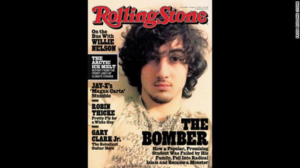 Dzhokhar Tsarnaev, portada de la revista Rolling Stone
