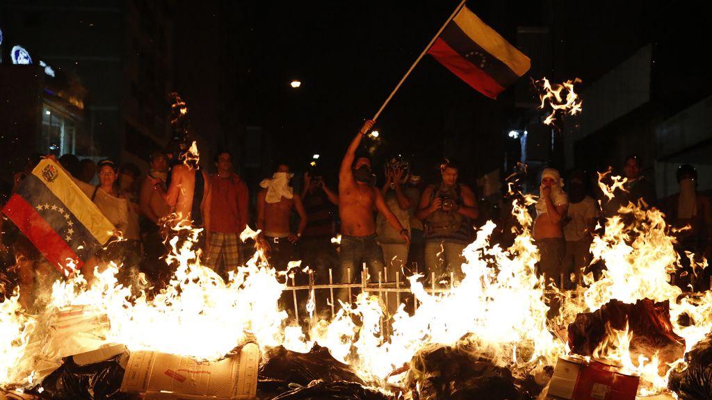 Barricada en Venezuela