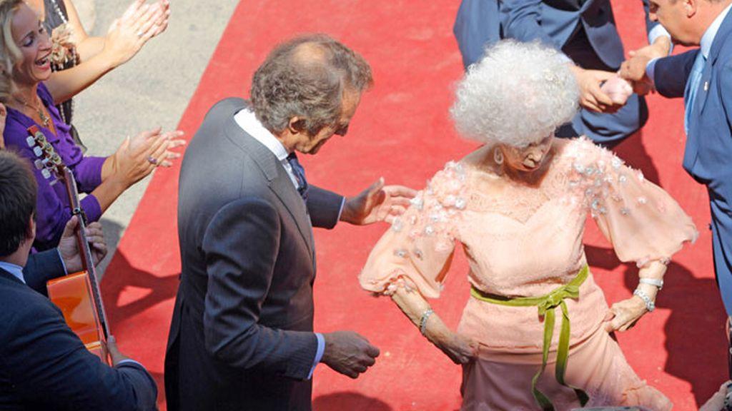 El baile de la Duquesa de Alba y Alfonso Díez, paso a paso