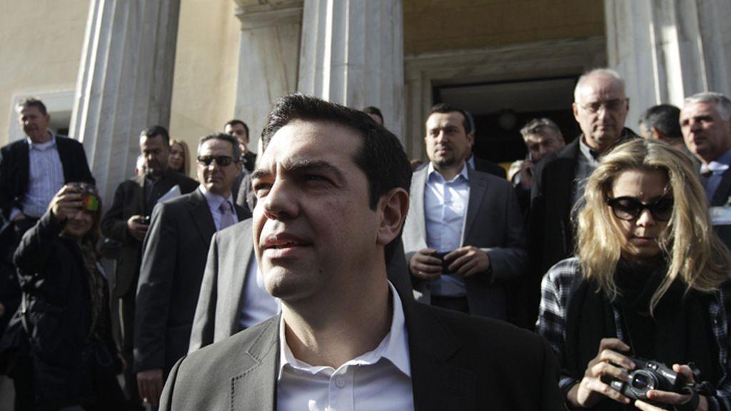 Alexis Tsipras, líder del opositor partido Syriza