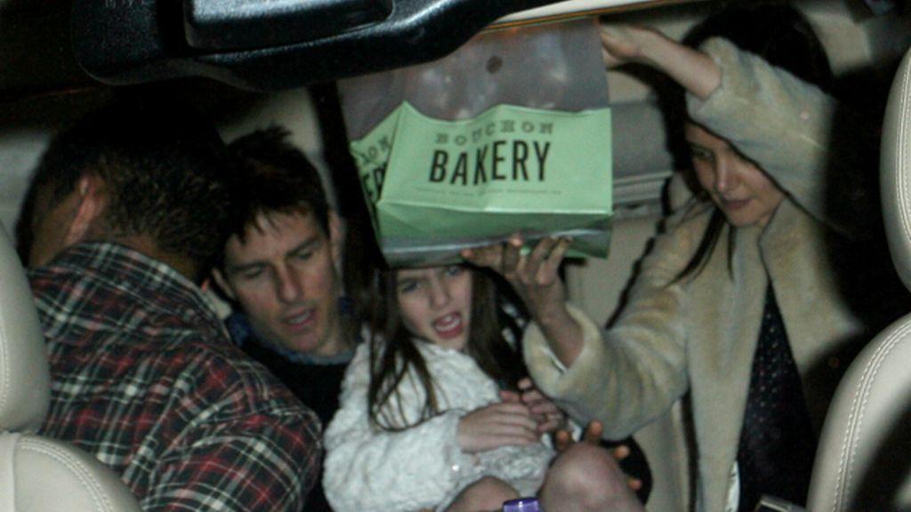 Tom Cruise, Suri y Katie Holes