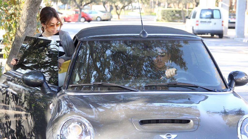 Dani y Blanca, juntos por las calles de Madrid