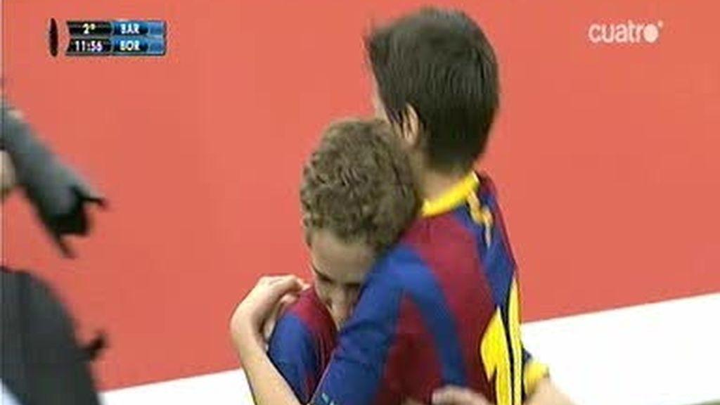 Fútbol 7: Barcelona 2 - 0 B. Dortmund
