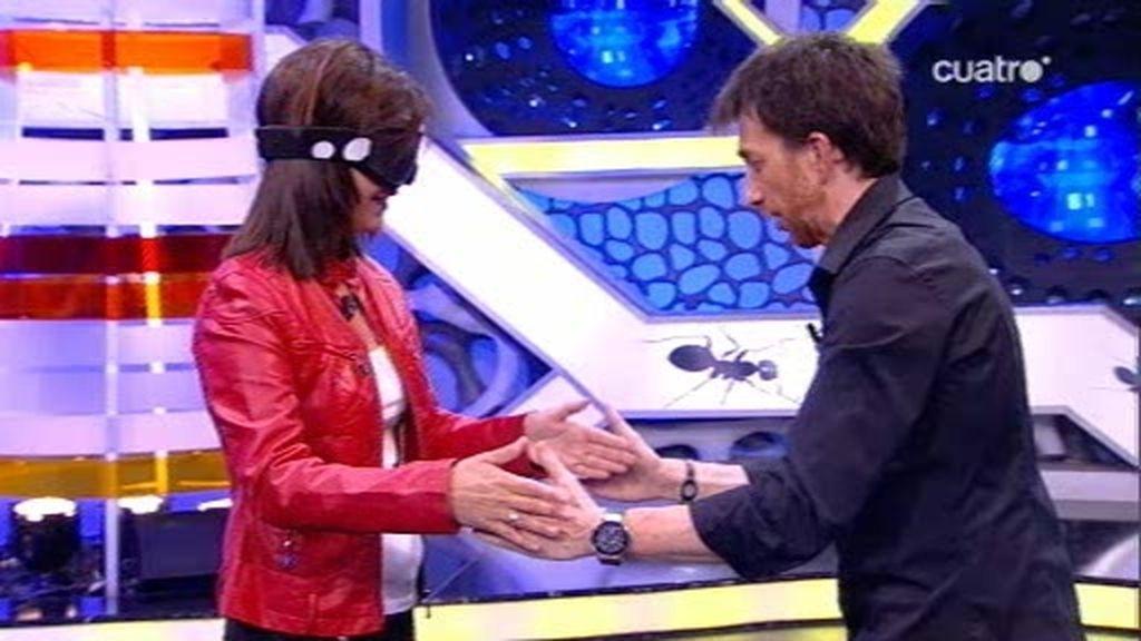 Pablo Motos, la broma a Samanta Villar y los saltamontes
