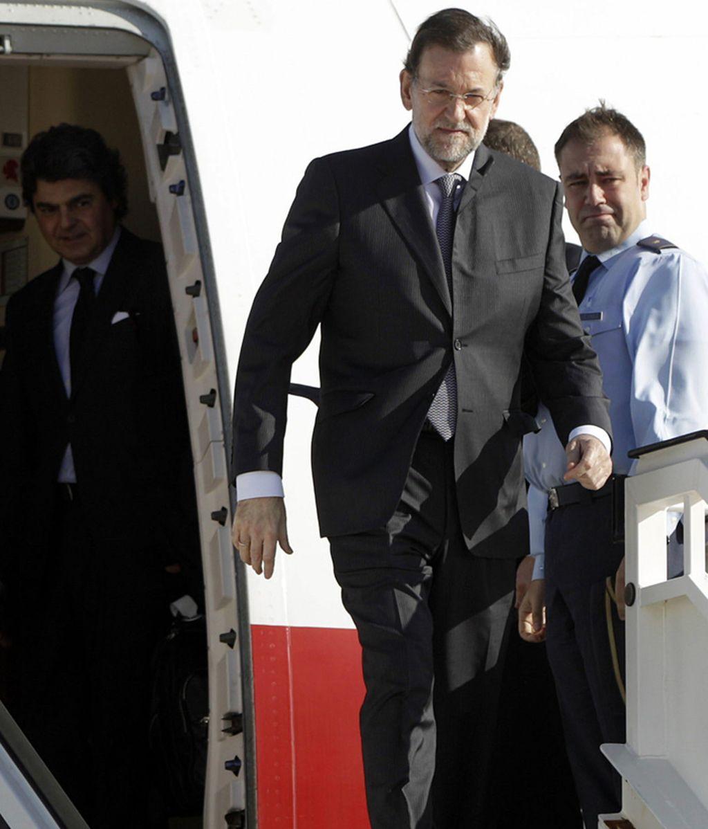 Llegada a Cádiz del presidente español, Mariano Rajoy, para asistir a la XXII Cumbre Iberoamericana