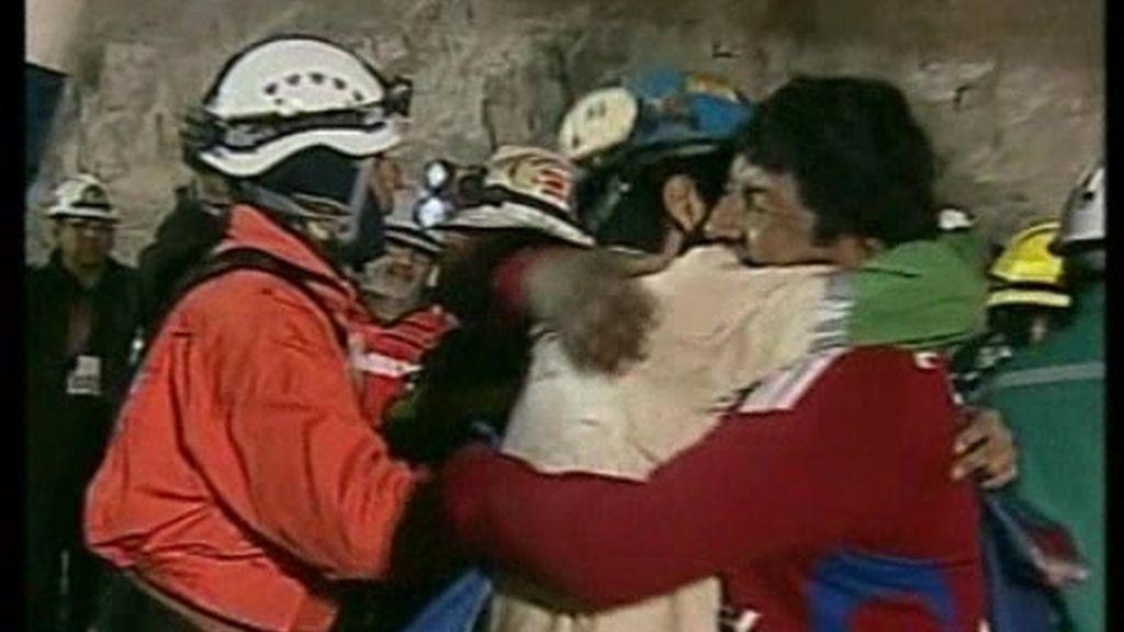 El quinto minero rescatado, el más joven