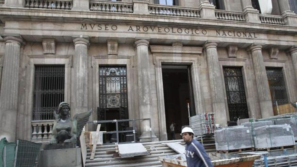 Obras de restauración del Museo Arqueológico Nacional