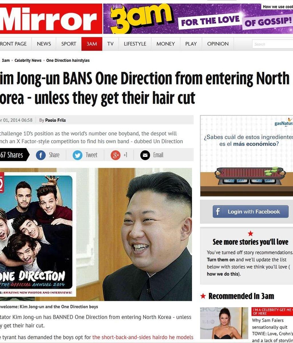 Los mejores gags en la prensa inglesa