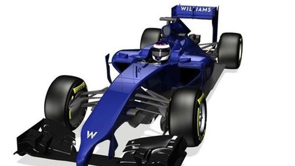 Williams presenta un nuevo monoplaza