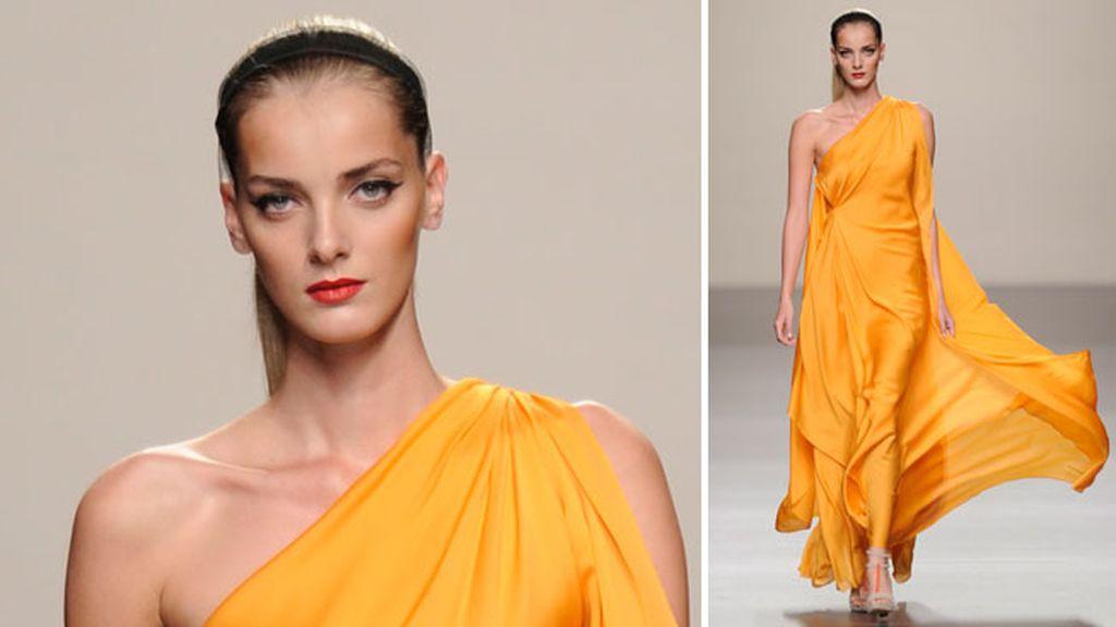 Colección sport con vestidos de noche dignos de una diosa griega