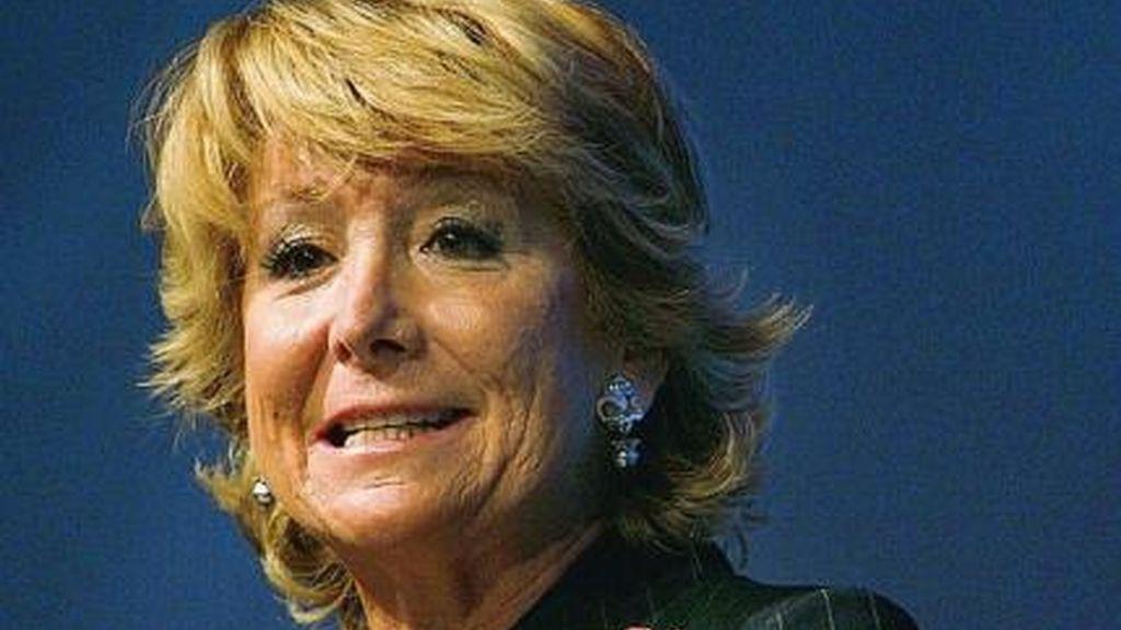 La presidenta de la Comunidad de Madrid en una foto de archivo.