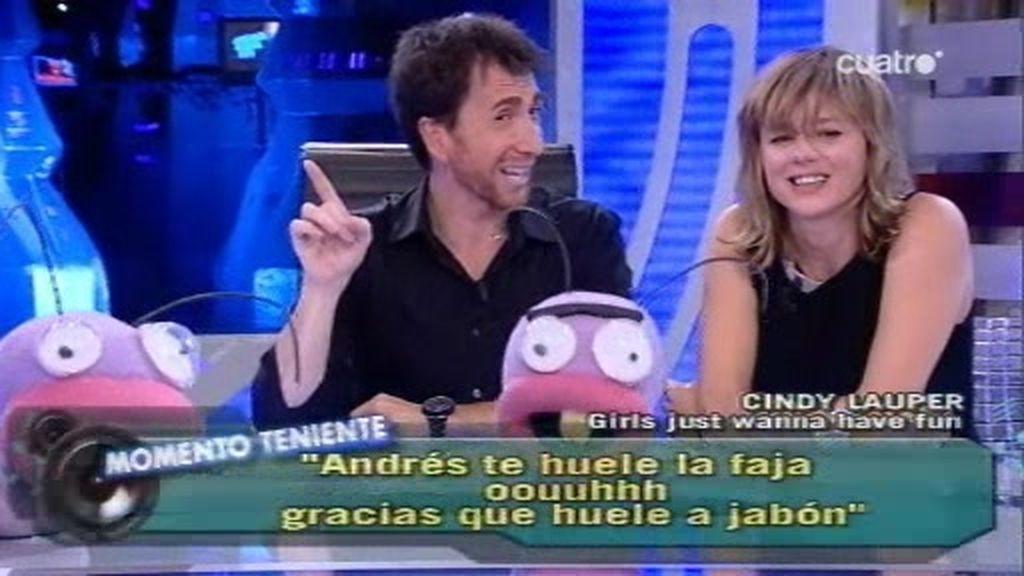 Pablo Motos y Emma Suárez repasan algunos momentos tenientes