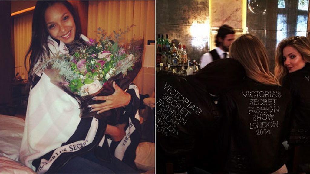 Lais Ribeiro, flores y cócteles
