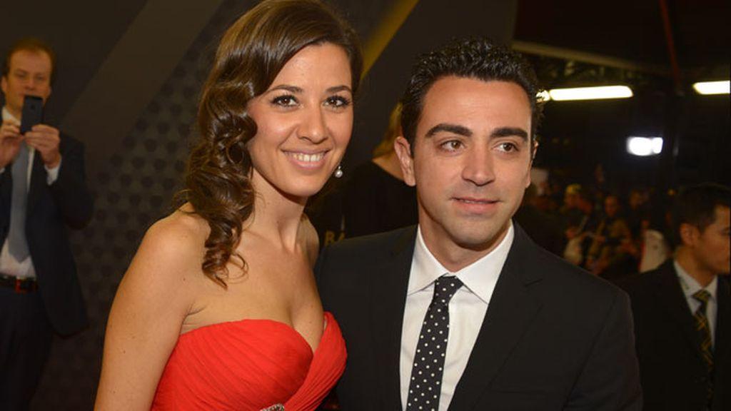 Xavi y su mujer Nuria Cunillera