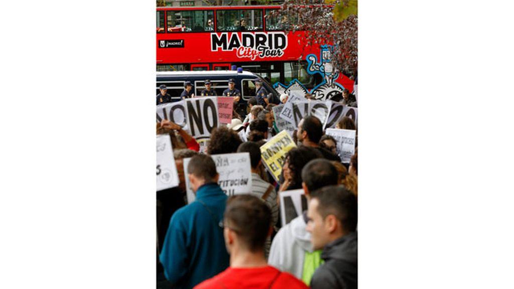 Más de 1.300 antidisturbios miran por la seguridad de la Cámara