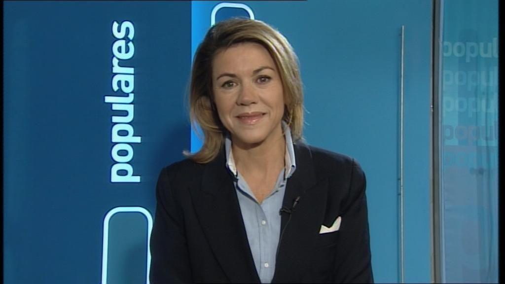 Cospedal en Telecinco