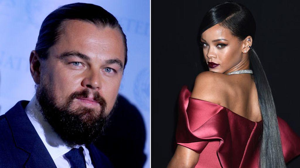 DiCaprio y Rihanna