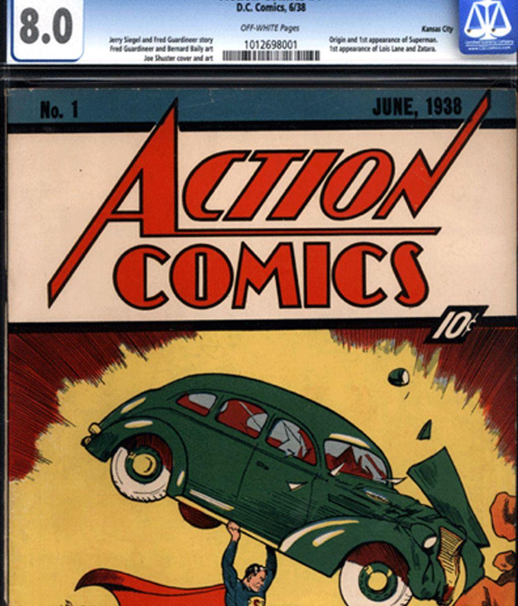 Actions Comic, el tebeo en el que Supermán fue presentado al mundo
