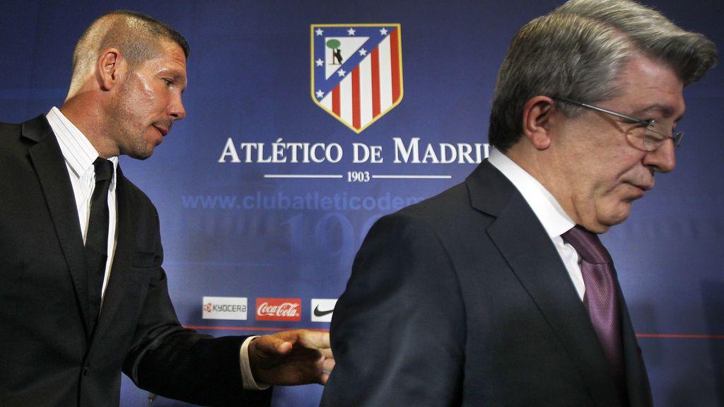 Enrique Cerezo, Diego Simeone, Atletico