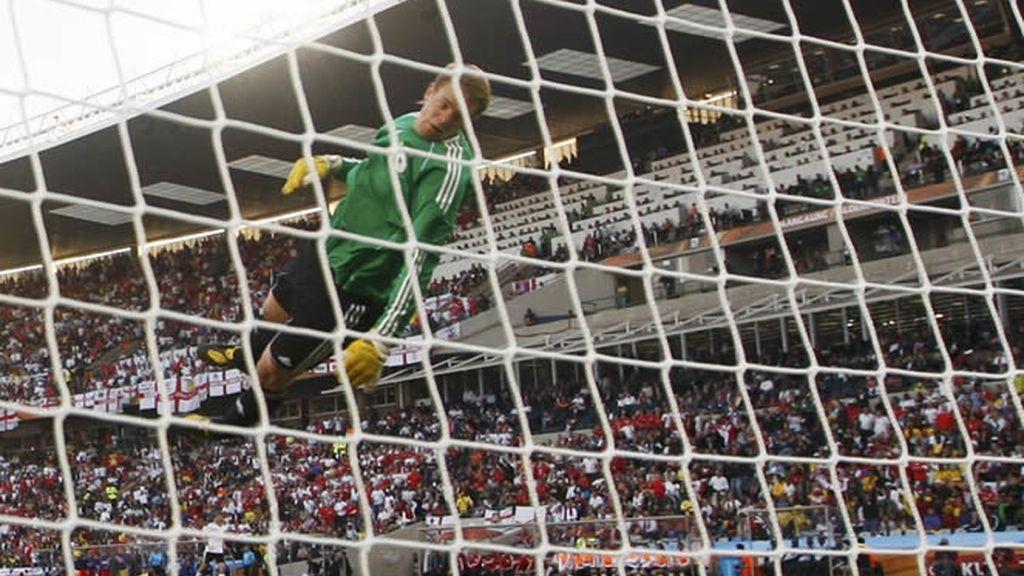 Espectácular fotografía del 'gol' de Lampard