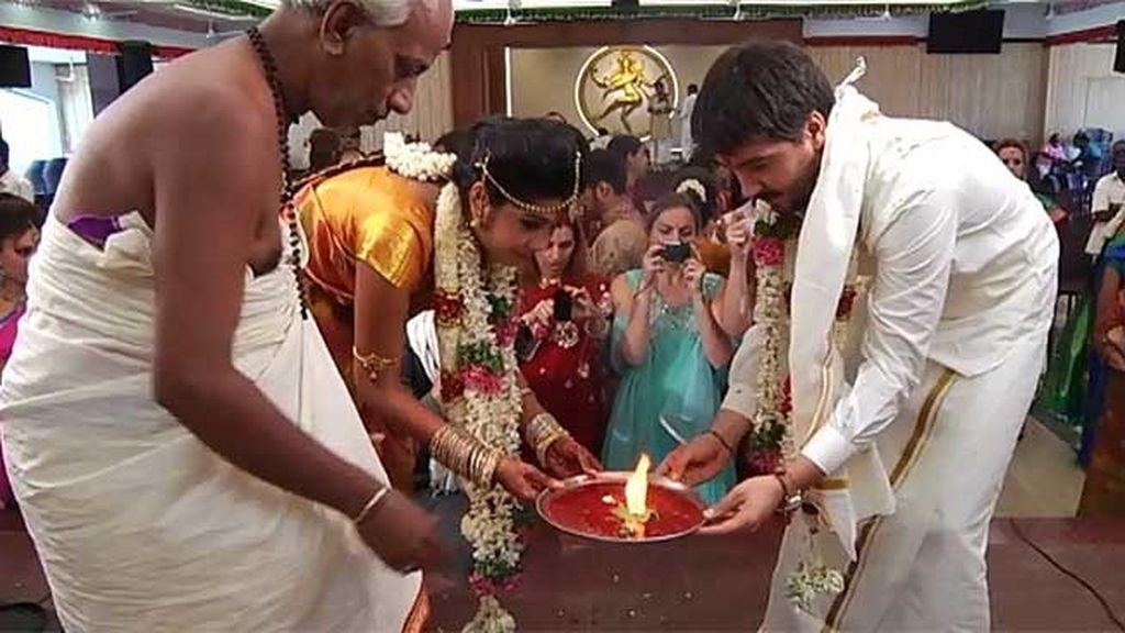 La celebración de la boda