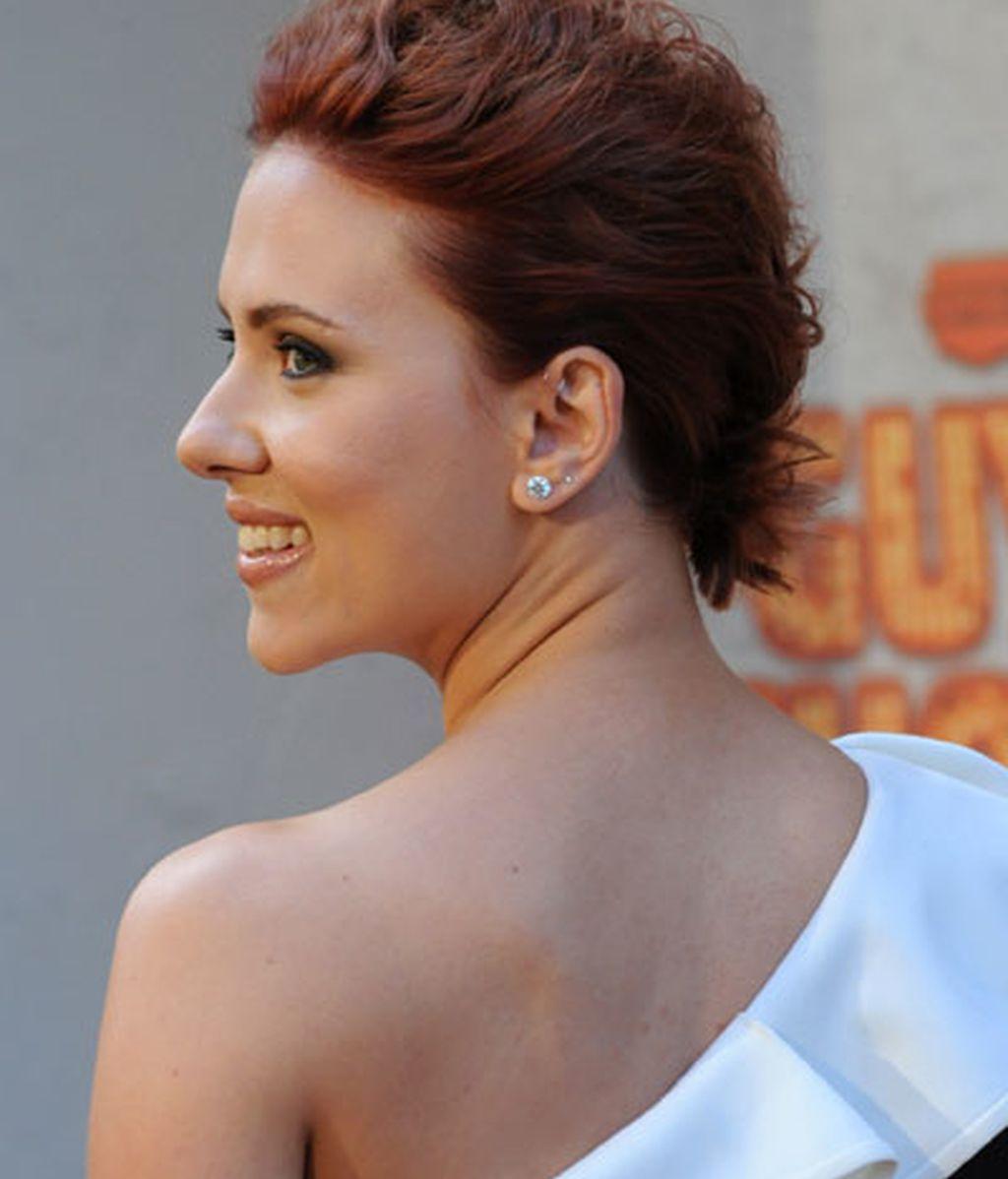 Scarlett Johansson: pelirroja