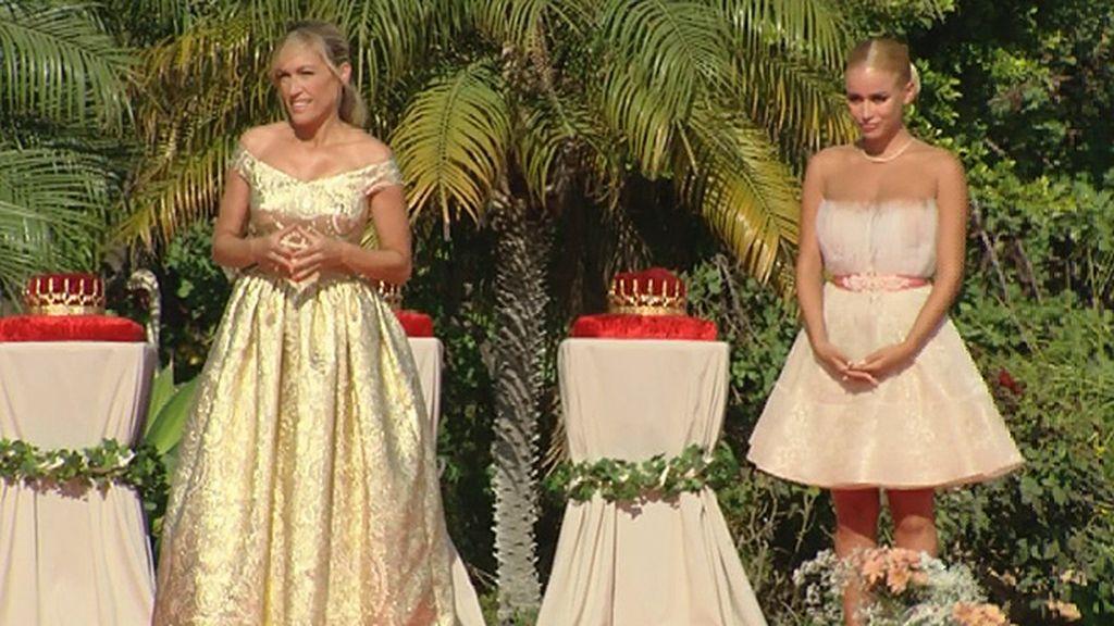 El rosa y el blanco, los colores elegidos por las princesas