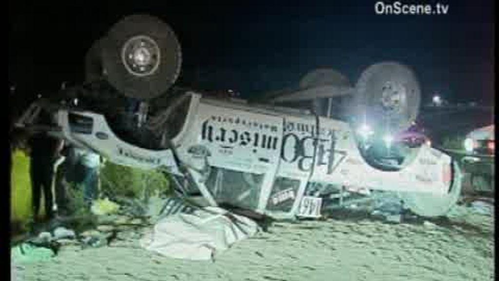 Un piloto de rally mata a ocho personas durante una carrera