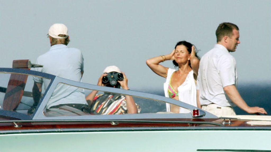 La Reina Silvia de Suecia en bikini