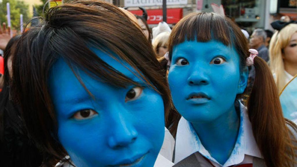 Fiesta multitudinaria en Tokio