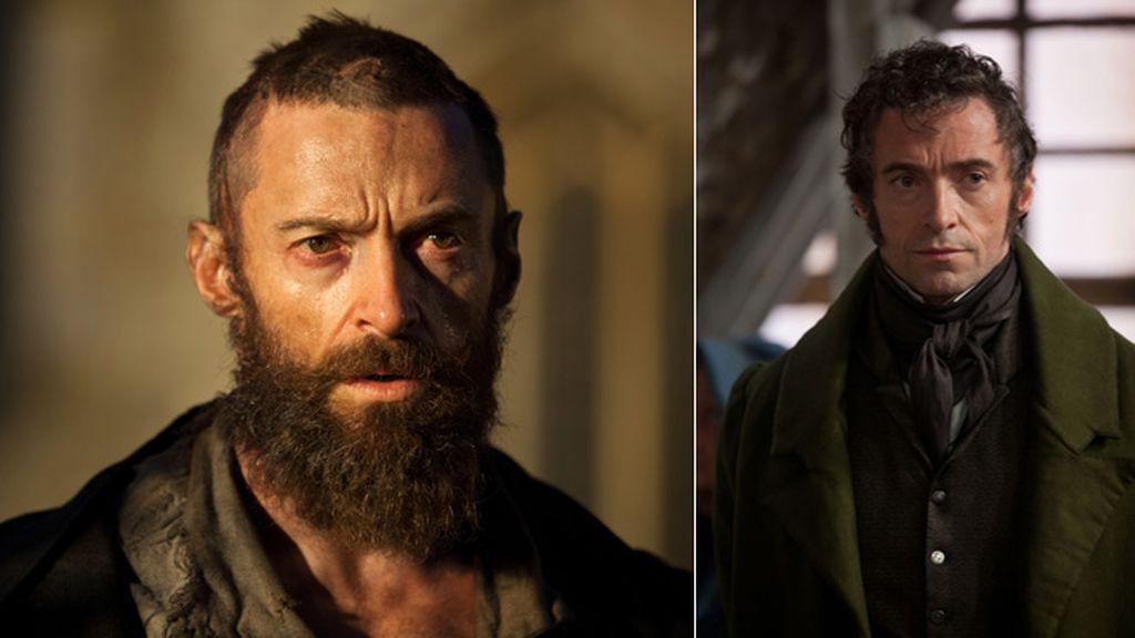 Vemos en el ropaje de Jean Valjean, el favorito de Delgado, su evolución y cambio social