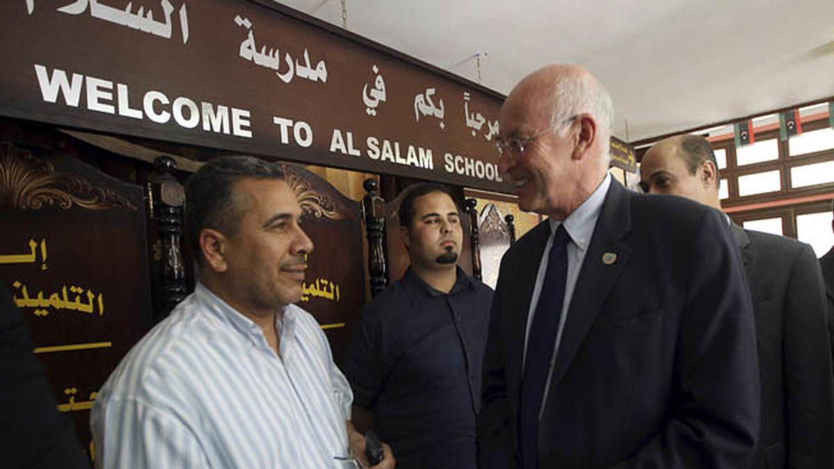 El enviado de la ONU para Libia da su visto bueno