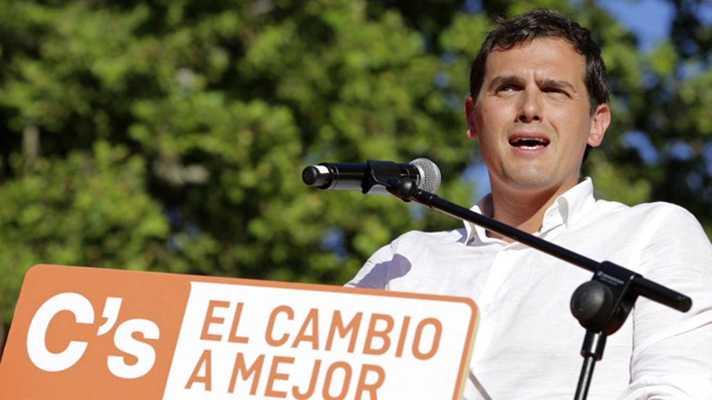 Albert Rivera, secretario general de Ciudadanos