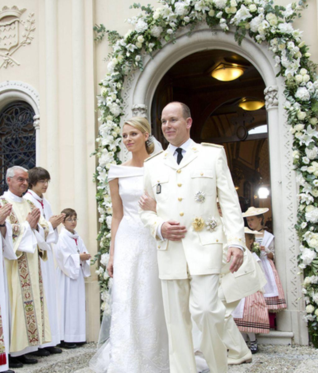 Alberto de Mónaco y Charlene Wisttock