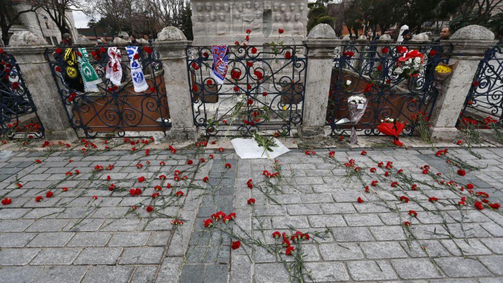 Recuerdo a las víctimas del atentado de Estambul (Turquía)