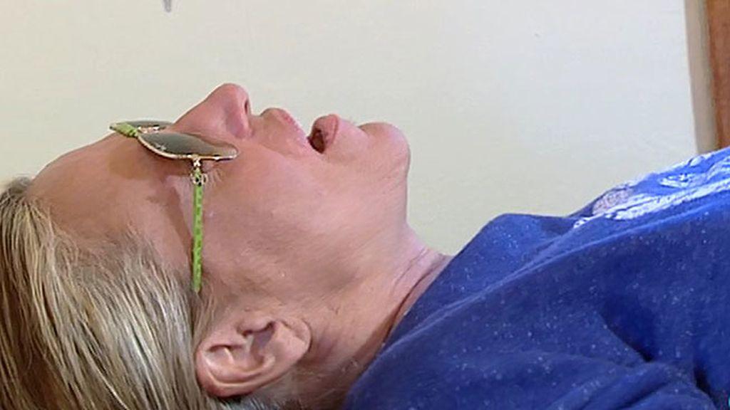 Lydia Lozano, entre lágrimas tras el análisis de sangre